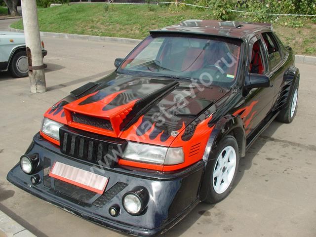 Внешний тюнинг - это изменение внешнего вида автомобиля(бампер, спойлер...